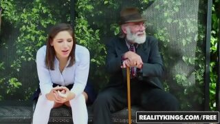RealityKings – Teens Love Huge Cocks – (Abella Danger) – Bus Bench Creepin
